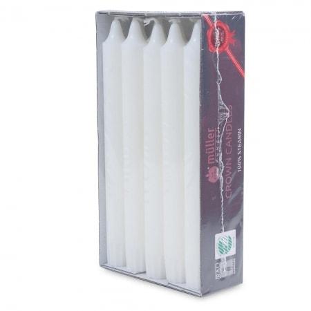 Kronenkerzen 200/22 mm, 10er Pack