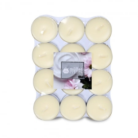 Aromatic Art Duft-Lichte im 24er Flatpack, Soft Creme