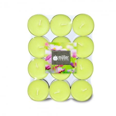 Aromatic Art Duft-Lichte im 24er Flatpack, Flower Garden