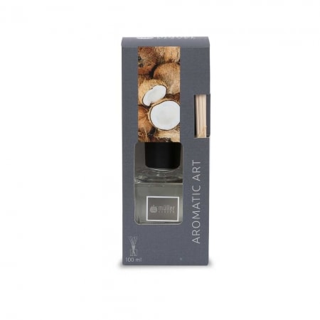 Aromatic Art Raumbedufter, 100 ml / 8 sticks, Coconut Island