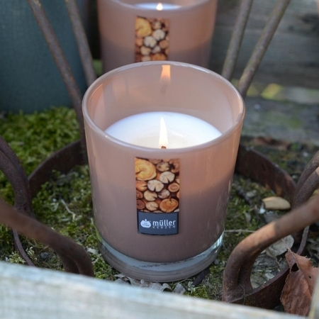Aromatic Art Maxi Duft-Kerzenglas mit Deckel, Sandalwood