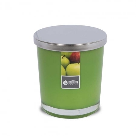 Aromatic Art Maxi Duft-Kerzenglas mit Deckel, Juicy Apple