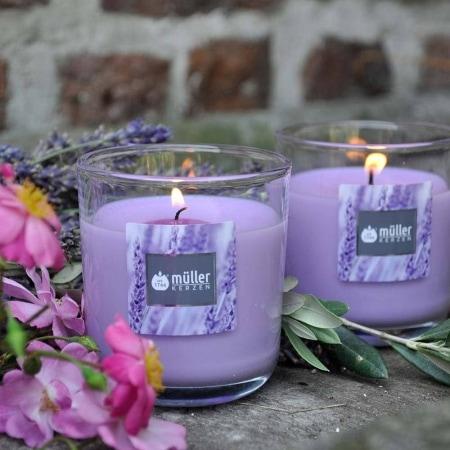 Aromatic Art Duft Kerzenglas, medium, Lavender Fields