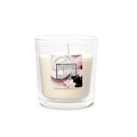 Aromatic Art Duft Kerzenglas, medium, Soft Creme