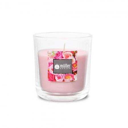 Aromatic Art Duft Kerzenglas, medium, English Rose