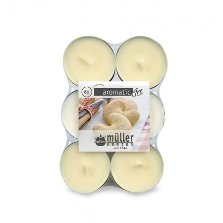 Maxi Lichte 6er Flatpack, spicy vanilla
