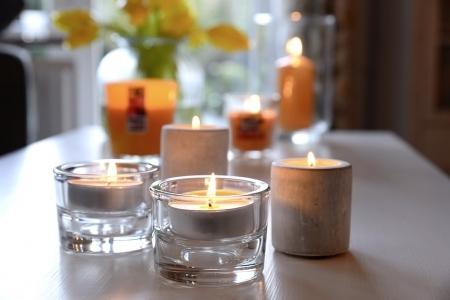 Aromatic Art Duft-Lichte im 24er Flatpack, Exotic Fruits
