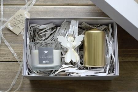 """Geschenkbox """"Vanilla Dream"""", dreiteilig"""