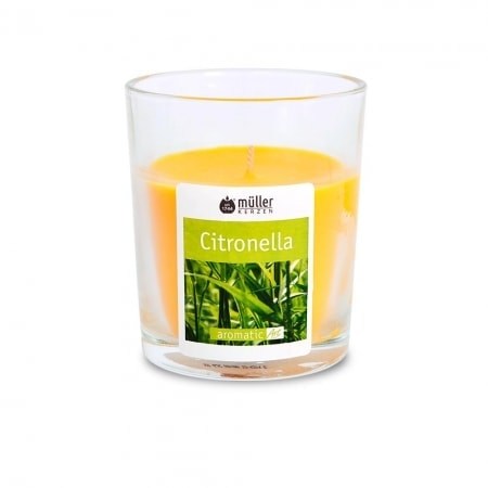 Maxiglas Citronella ohne Deckel, gelb, 110/95 mm