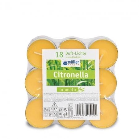 Citronella Duft-Lichte 18er Flack Pack