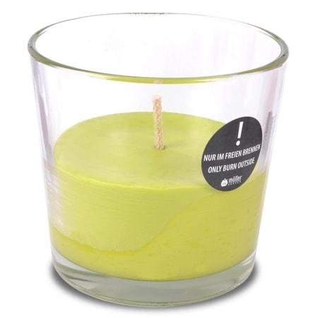 "XXL Outdoor-Kerzenglas ""Finca"", pastellgrün"