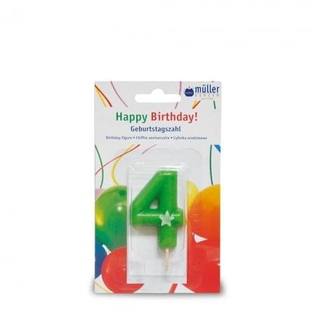 Geburtstagskerzen mit Zahlen 0-9