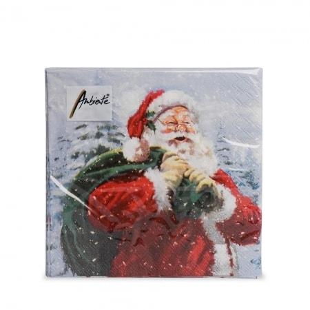 Servietten Weihnachtsmann, 20 Stück