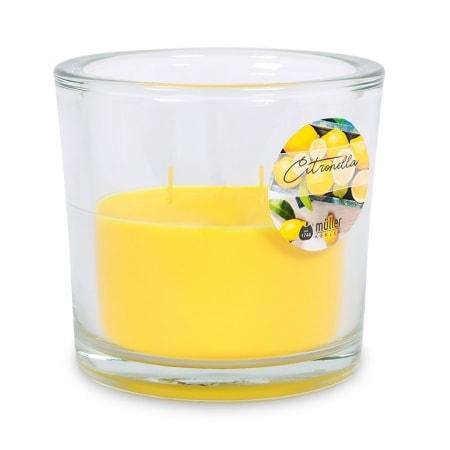 Citronella 2-Docht-Kerzenglas, 120/125