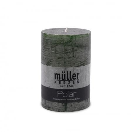 POLAR Kerze mit Raureif-Effekt 120/78