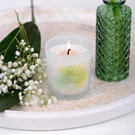 Mix your Present, Kerzenglas