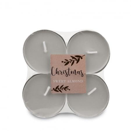 Maxi Duft-Lichte, 8er Flat Pack, Sweet Almond
