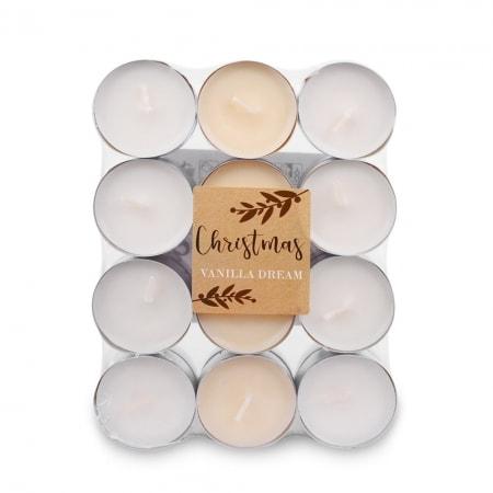 Duft-Lichte im 24er Flat Pack, Vanille