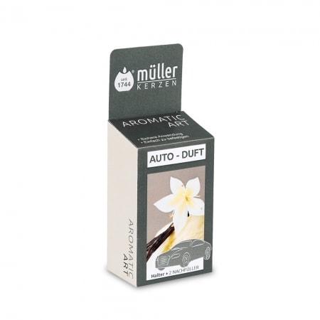 Aromatic Art Autoduft, Halter + 2 Nachfüller