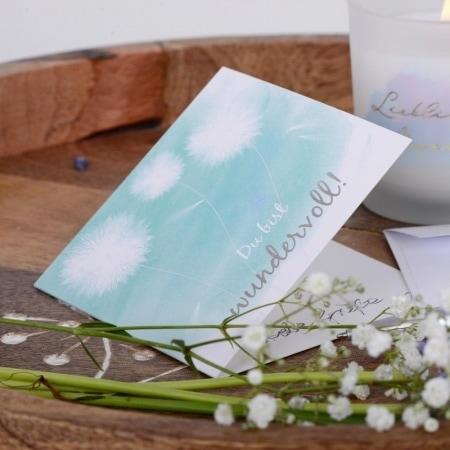 Mix your Present, Geschenkkarte