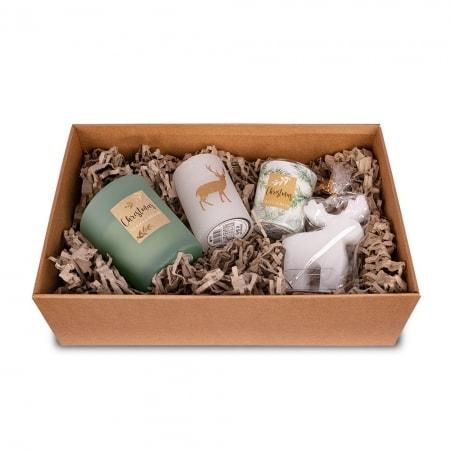 Geschenkbox, verschiedene Sortierungen