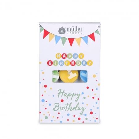 """13 Geburtstags-Lichte """"Happy Birthday"""""""