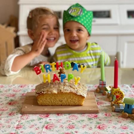 14 Tortenstecker Happy Birthday