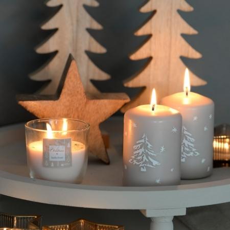 "Duft-Kerzenglas ""Christmas"" 75/75 mm"